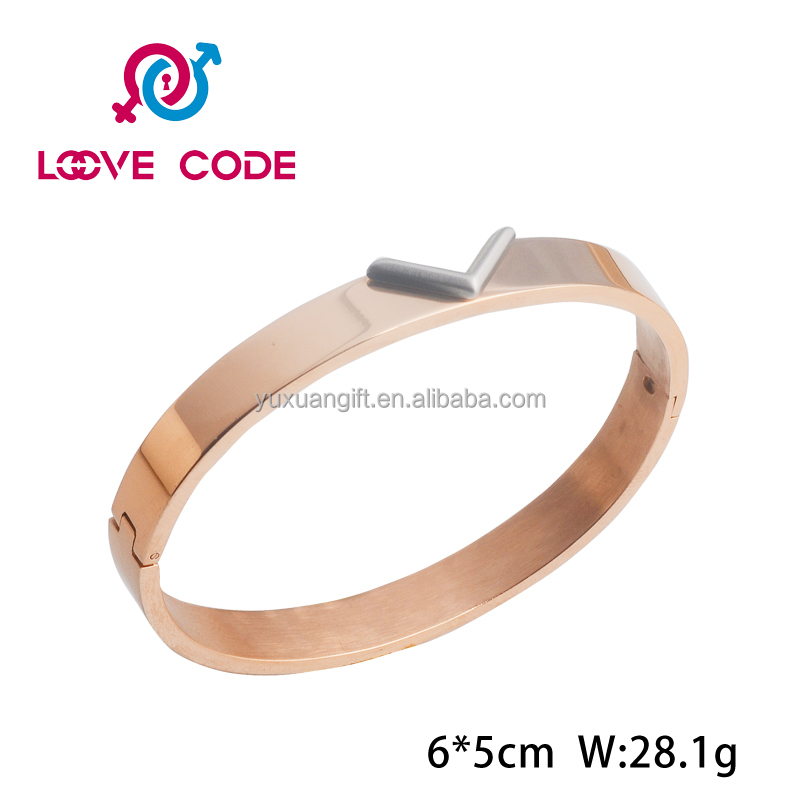 Hot sale new fashion boys bangles and bracelets stainless steel