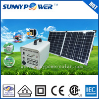 OEM portable 60W/80w/100w/120w Home use solar energy product