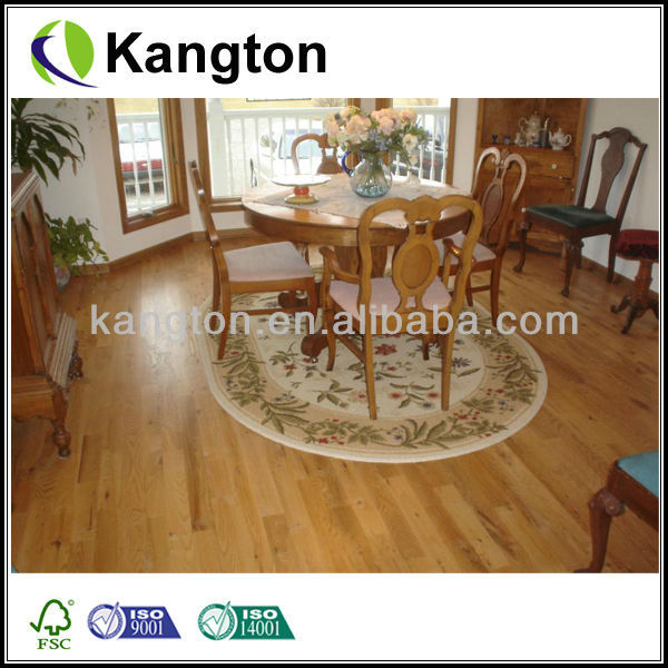 handscraoped hardwood flooring kempas wood