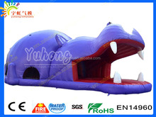 Best quality hot sale competitive price with door hippo inflatable water slide