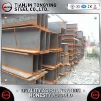 Price Based On Actual Weight Q235b Q345 Hot Rolled H Beams/h-steel/h-shaped Structure Steel