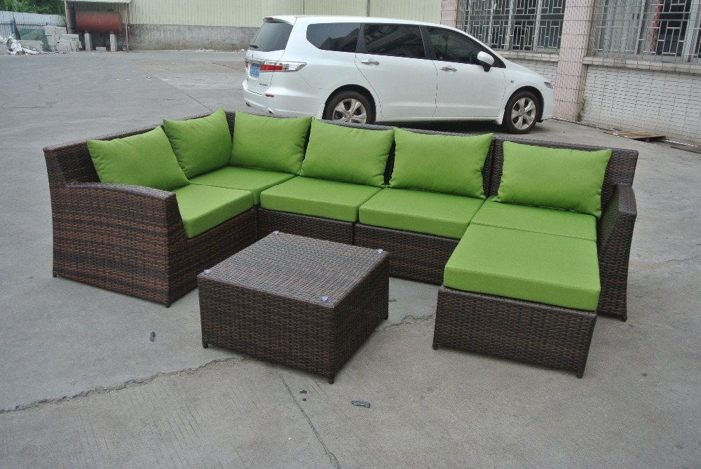 ZT-3068S new design stackable rattan/wicker sofa