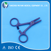 Surgical tweezers medical clamp plastic forceps disposable sterile hemostatic bleeding stop forceps