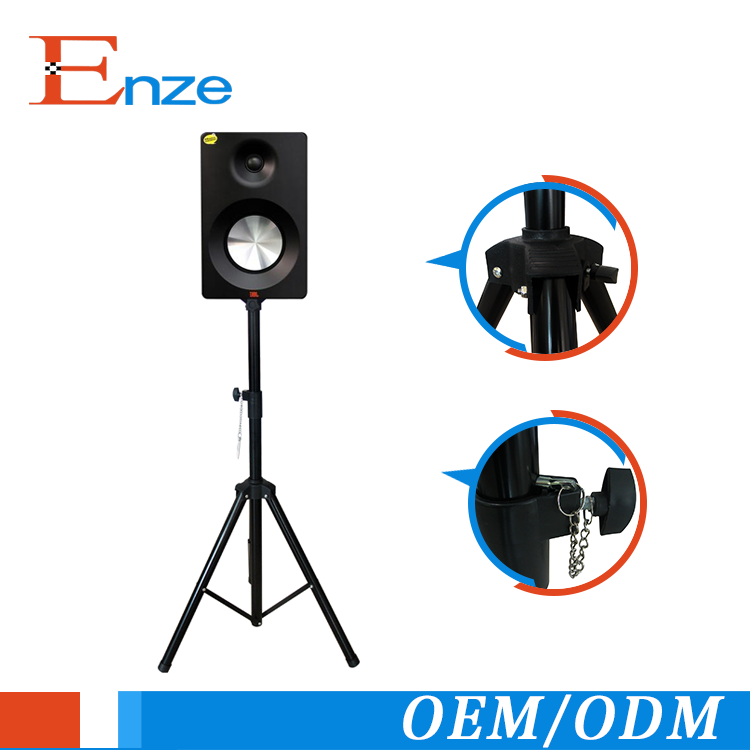 Top grade stage quest audio adjustable height tripod DJ PA speaker audio speaker stands
