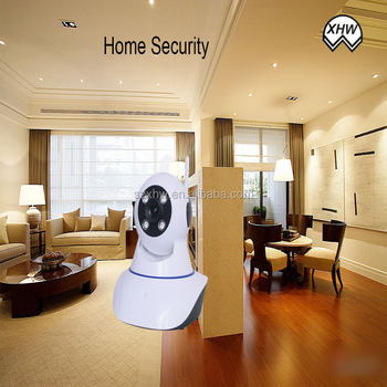 Support Mobile view Windows Mobile Black Berry robot security camera