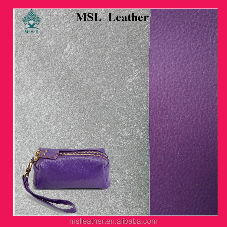 Cheap PU artificial leather material for bag manufacturer China