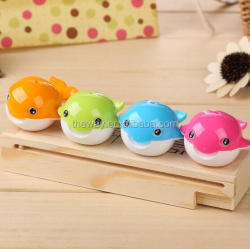 Cute Whale Design pencil sharpener Great stationary gift for student Plastic sharpener
