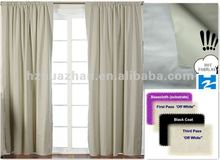 4 pass blackout fabric curtain lining