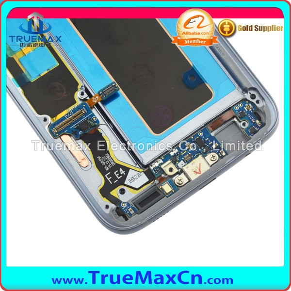 China Factory Supplier Replacement LCD Display Screen Assembly for Samsung Galaxy S7 Edge