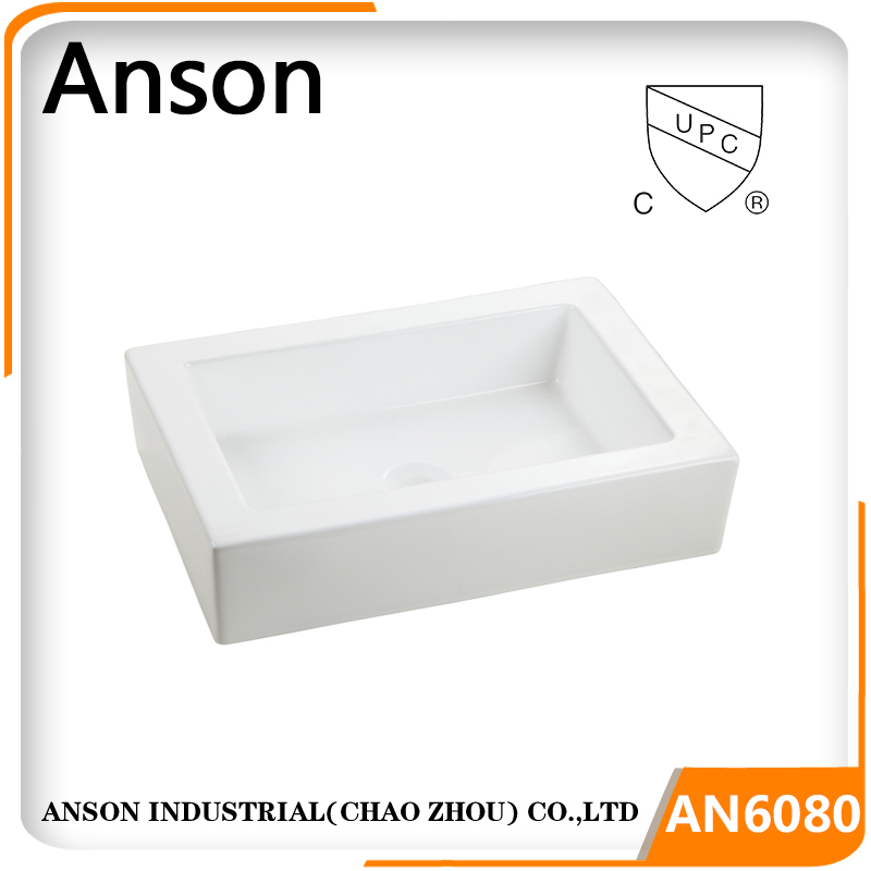 sanitary ware bathroom hand wash basin ceramic basin counter top cabinet art basin Cupc ceramic sink