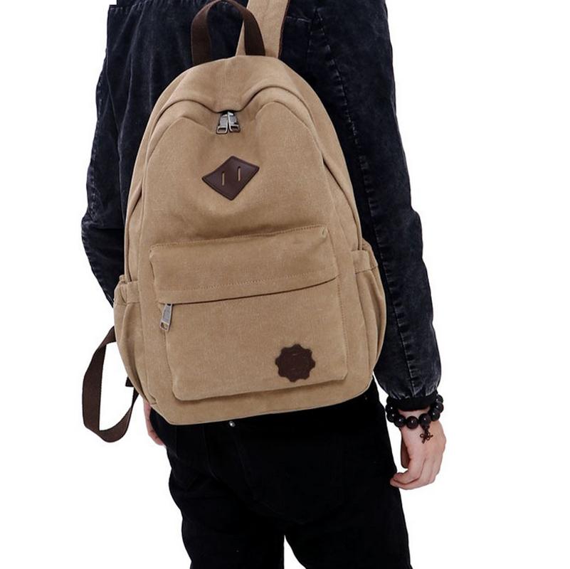 Buy Fashion Canvas School Backpack Women
