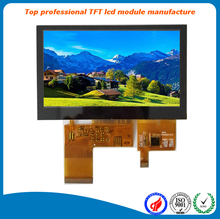 Industrial LCD Display 4.3 inch Capacitive Touch Screen