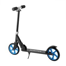 205mm Forerake Head Double Brake Scooter For Adult Child Big Wheel Scooter
