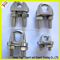 Us Type Stainles Steel AISI304/AISI316 Wire Rope Clips