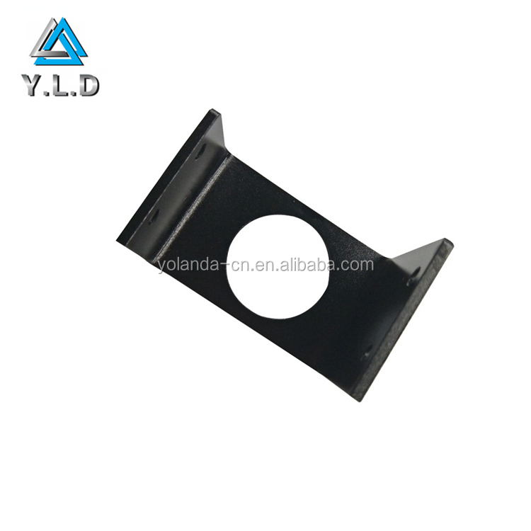2017 Custom Project Precision Stamping Steel U Shaped CNC Punching Bracket For USA Client