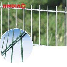 Hebei 30 year factory low price double wire metal mesh, 868 and 656 galvanized welded wire fence