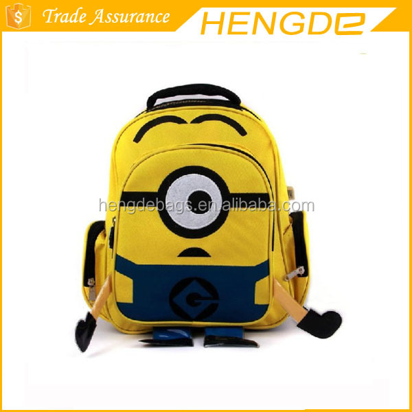Despicable Me 2 Children Cartoon School Bag