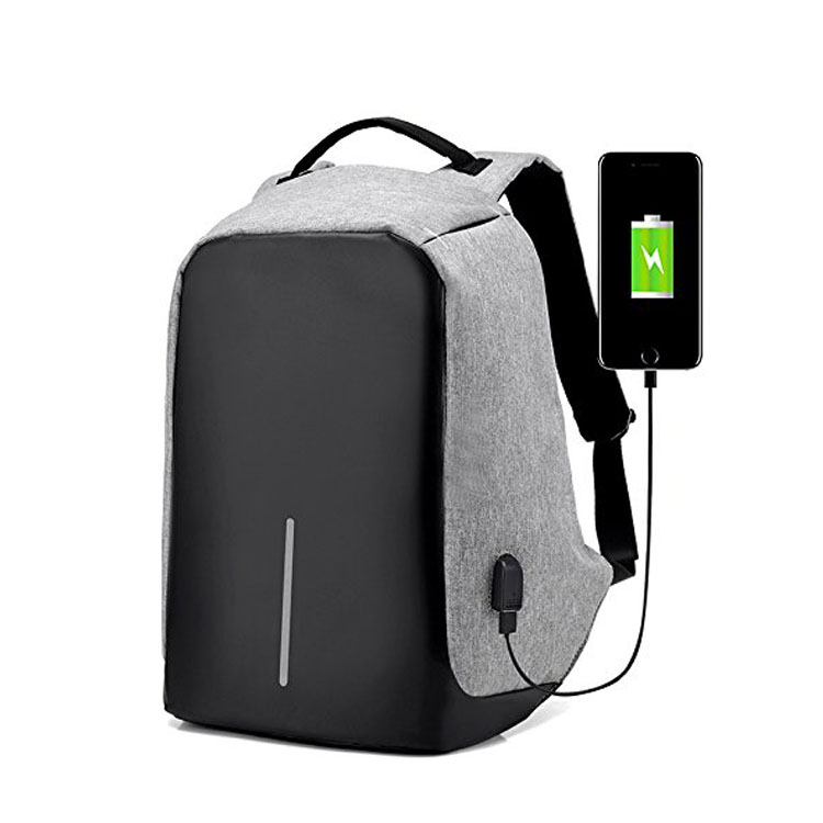 Anti-theft Laptop Backpack with USB Charge Port Lightweight Casual Travel Backpack