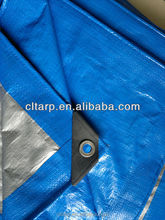 Polyethylene tarpaulin light in weight,heavy in protection