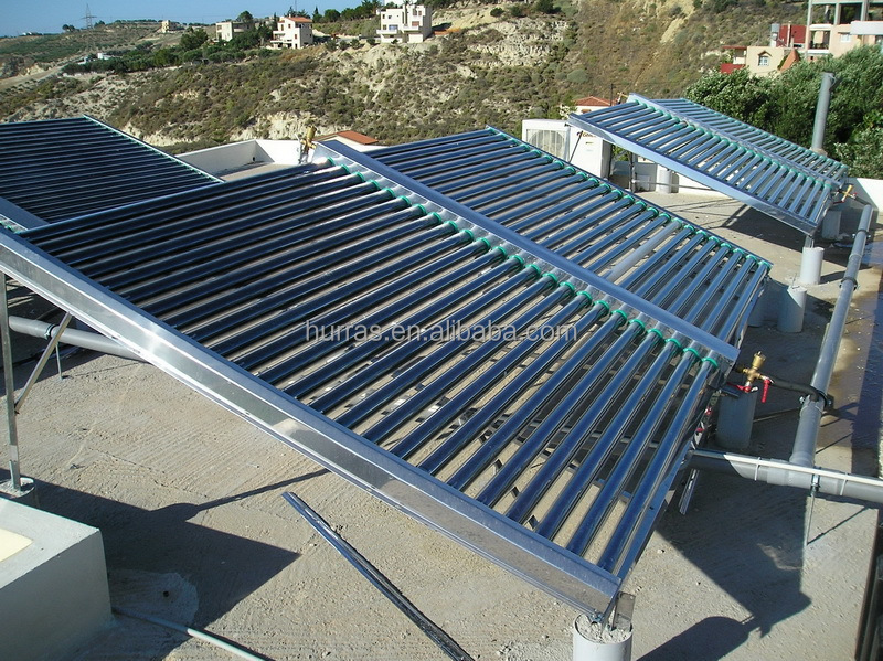 500 Liters Low Pressure Solar Collector for hot water heating