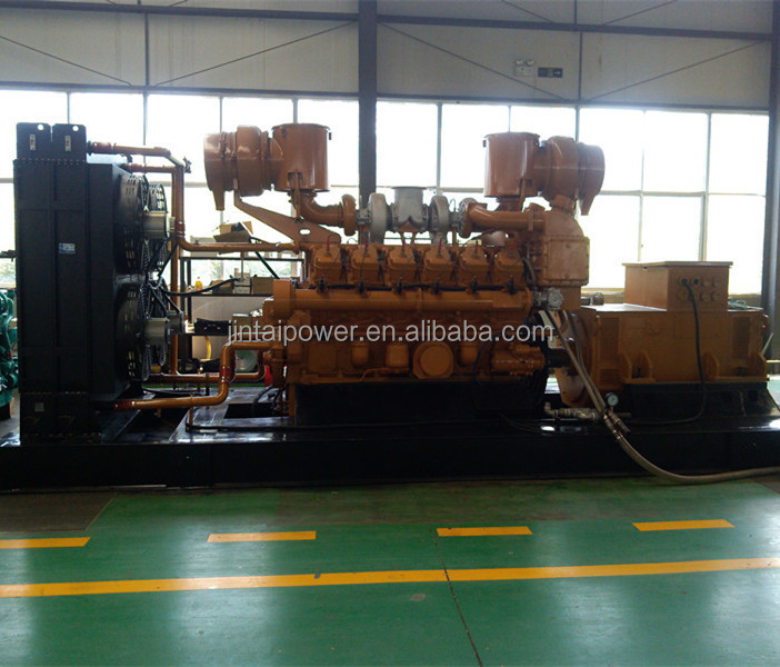 Bottom price 1000 kw natural gas generator with CE ISO