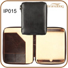 genuine leather cover for Ipad 3 / leather folio for Ipad 3