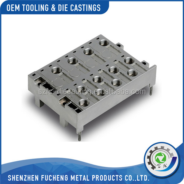highest quality customized electrical parts in Aluminum diecast