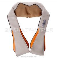 Electric Back Head Body Shoulder Shiatsu Car Neck Massage shawl with Heat