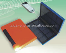 Hot sale emergency solar power bank solar charger mobile travel charger with lighting function