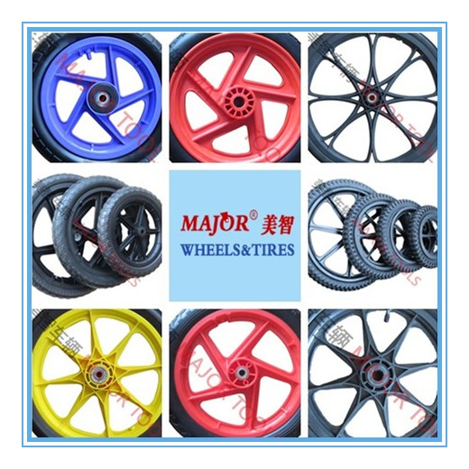 12''/14''/16''/20'' pneumatic rubber wheels