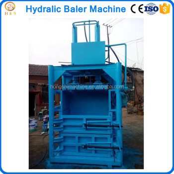 paper baler machine