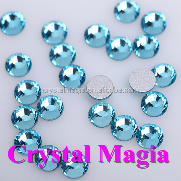 2016 polish glass nail stones flat back shinning crystal rhinestone trimming