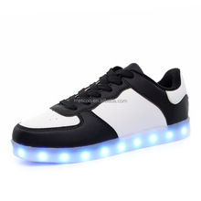Unisex Luxe Brand Casual Light up Led Calzado Hombre Cheap Top Chaussure Femme Lumineuse For Adults