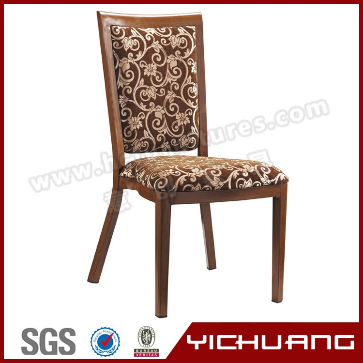 modern hotel comfortable and high quality brown dining chairs YCX-B22
