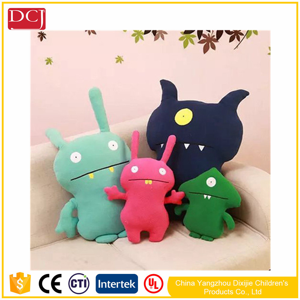 Cute Monster Korea Ugly Doll Pillow Dolls Plush Toys Dolls And Creative Trend Toy