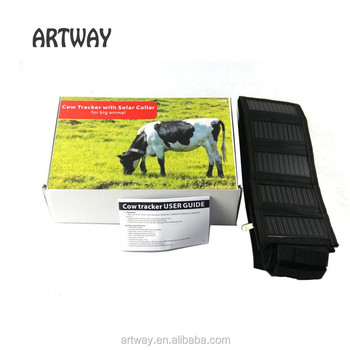 T500 waterproof GSM GPRS solar power GPS Tracker for Cow, Buffalo, Goat, Sheep, camel