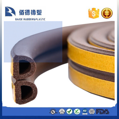 Auto Door and Windows of Rubber Sealing Strip
