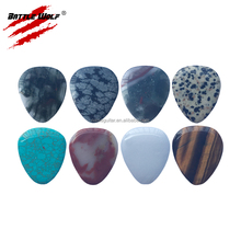 Smooth High-Grade Shining Stone Guitar Pick
