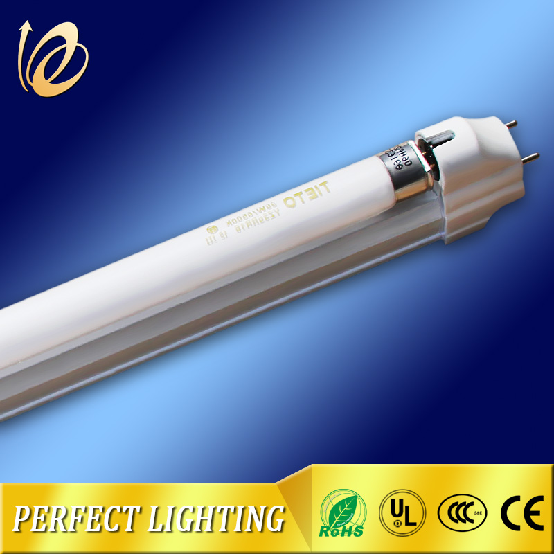 Aluminium material energy saving lighting led lamp t8 fluorescent tube light with bracket
