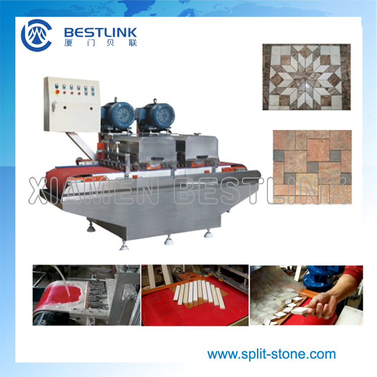 multi blade mosaic cutting machine for ceramic tile, marble and granite
