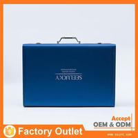competitive price high quality bonded leather cosmetic box wholesale
