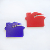 custom logo hot sale house shape envelope cutter knife