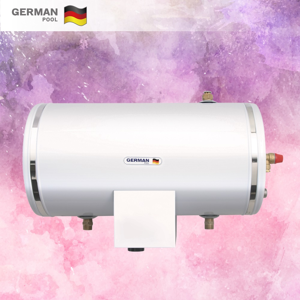 GermanPool Custom Design Pollution free 3KW Water Saving mechanic Construction Thermostat horizontal water heater