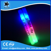 Promotional giveaways logo print led flashing foam stick