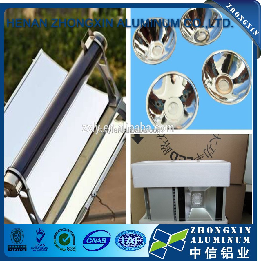 high reflective anodized solar mirror aluminum panel ton price