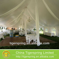 Popular wedding hall decorations tent