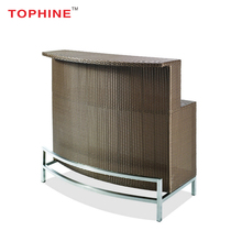 TOPHINE Furniture Sale Professional Price Commercial Modern Design Rattan Bar Counters