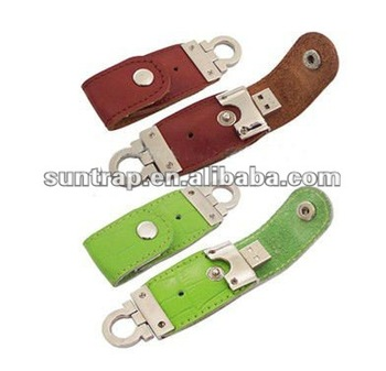 new design leather usb flash pendrive for promotion gifts