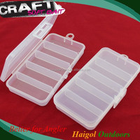 Supply kinds PET box (size 13*7*2 cm) PET package Fishing package box