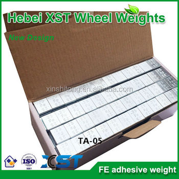 universal adhesive wheel weight